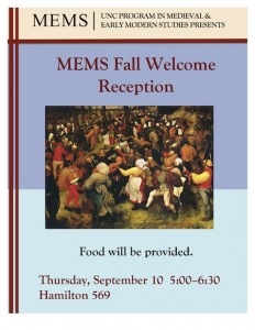 Fall Reception 2015